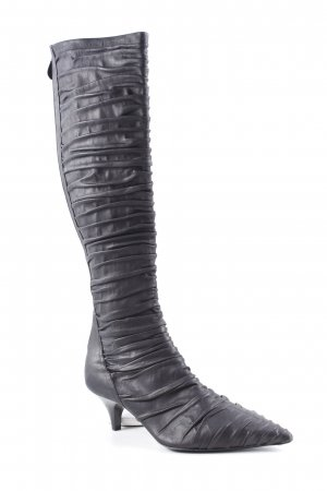 Giorgio  Armani Absatz Stiefel schwarz Elegant
