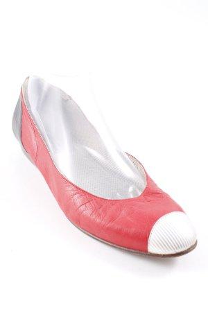 Giorgio  Armani Ballerinas mit Spitze mehrfarbig Vintage-Look