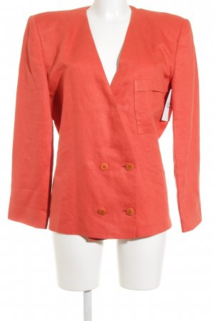 Giorgio  Armani Boyfriend Blazer salmon-bright red business style