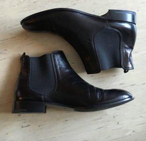 Giorgio Armani Chelsea Ankle Boots Stiefeletten gr.40