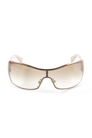 Giorgio  Armani eckige Sonnenbrille bronzefarben Casual-Look