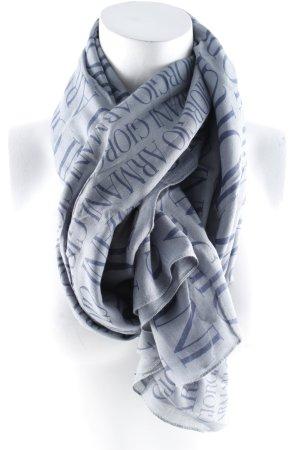 Giorgio  Armani Halstuch graublau-dunkelblau Casual-Look