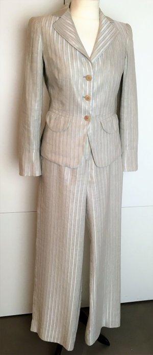 Giorgio  Armani Traje de pantalón multicolor tejido mezclado
