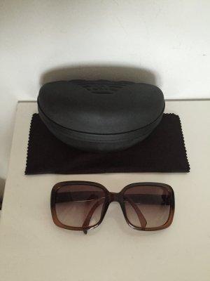 Giorgio Armani klassische Sonnenbrille braun