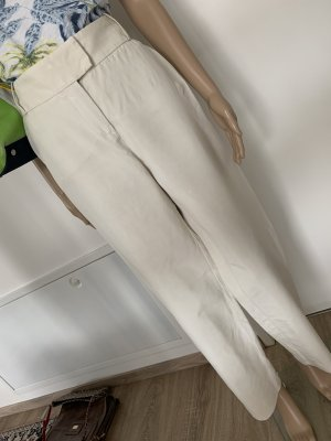 Giorgio  Armani Marlene Trousers natural white silk
