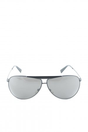 Giorgio  Armani Aviator Glasses black street-fashion look