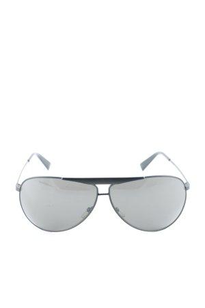 Giorgio  Armani Pilot Brille schwarz Street-Fashion-Look