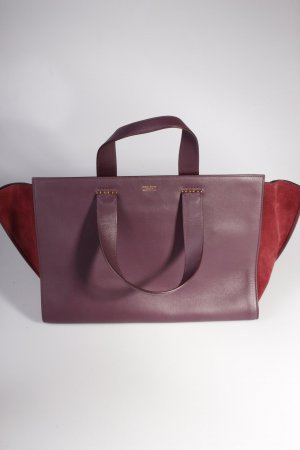Giorgio Armani Shopper Media Vitello Crosta Mosto/Mosto