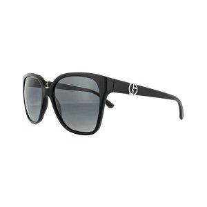 Giorgio Armani Sonnenbrille AR8061 5017T3 Schwarz Grau Verlauf Polarisiert NEU