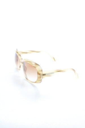 Giorgio  Armani Sonnenbrille beige-braun Street-Fashion-Look