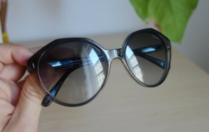 Giorgio  Armani Panto Glasses silver-colored synthetic material