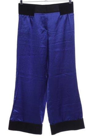Giorgio  Armani Stoffhose blau-schwarz Casual-Look