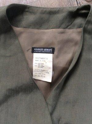 Giorgio Armani Weste grün Khaki Gr. 36