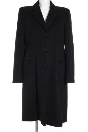 Giorgio  Armani Wintermantel schwarz klassischer Stil