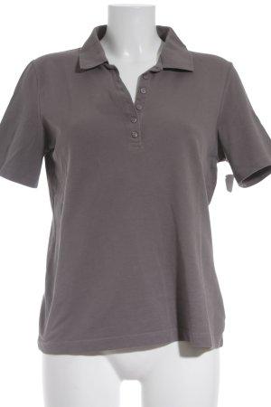 Giorgio Brato Polo marrone-grigio stile casual