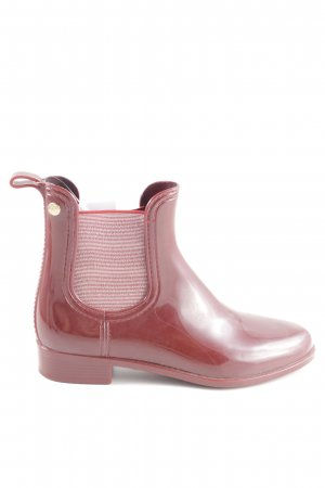 Gioseppo Wellies red casual look