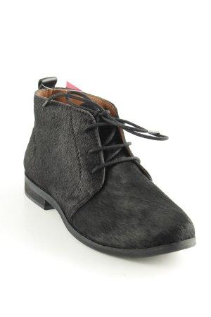 Gioseppo Schnürschuhe schwarz schlichter Stil