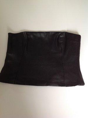 Gipsy Corsage noir cuir