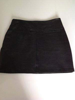 Gipsy Falda de cuero negro Cuero