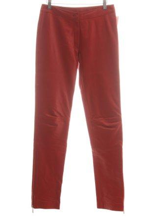 Gipsy Lederhose rot extravaganter Stil