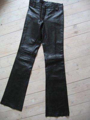 Gipsy Lederhose schwarz Größe XS/S