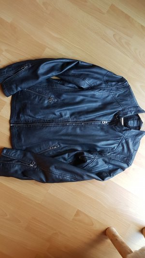 Gipsy Leather Jacket dark grey-anthracite leather