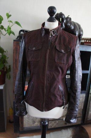 GIPSY Lederjacke Jacke Größe L 38
