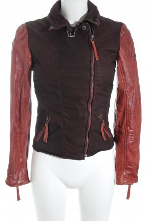 Gipsy Lederjacke mehrfarbig Street-Fashion-Look