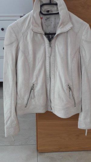 Gipsy Lederjacke NEU ohne Etikett Farbe Stone Gr. XL