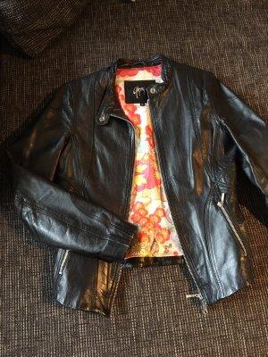 Gipsy Lederjacke schwarz mit tollem Innenfutter