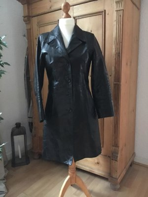 Gipsy Leather Coat black leather