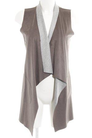 Gipsy Smanicato in pelle grigio scuro stile casual