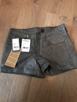 Gipsy Pantalón de cuero gris
