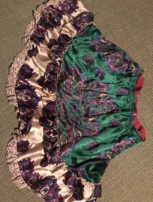 Odd Molly Jupe à volants multicolore soie