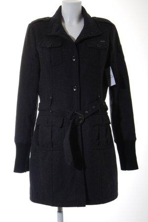 Gipsy Cappotto invernale grigio scuro stile casual