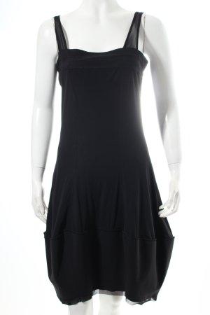 Girbaud Cocktailkleid schwarz extravaganter Stil