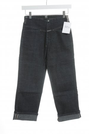 Girbaud Straight-Leg Jeans dunkelblau Casual-Look