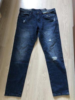 Esmara by Heidi Klum Boyfriend Jeans dark blue