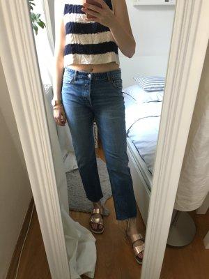 Girlfriend-Jeans kaum getragen
