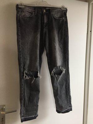 Girlfriend Jeans verwaschen