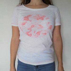 billa bong T-Shirt cream-salmon