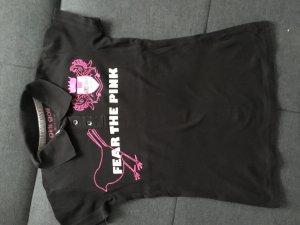 Girls Golf Shirt zwart