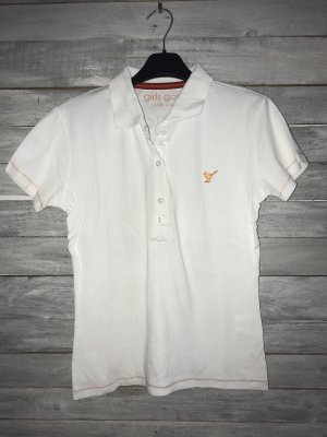 Girls Golf Polo shirt wit