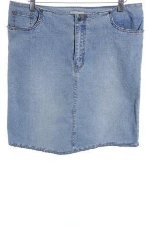 Girls Wear Jeansrock kornblumenblau Washed-Optik