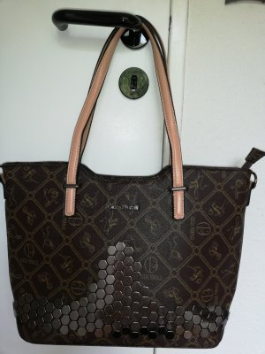 Giulia Pieralli Shoulder Bag dark brown-light brown