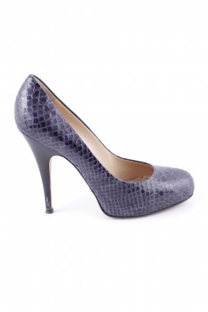 Giuseppe Zanotti High Heels lilac allover print elegant