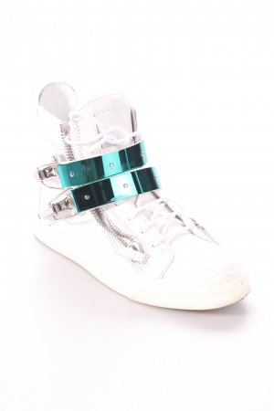 "Giuseppe Zanotti High Top Sneaker ""London Flat Sneaker"""