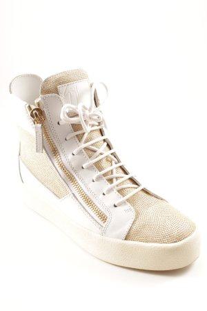 Giuseppe Zanotti High Top Sneaker mehrfarbig extravaganter Stil