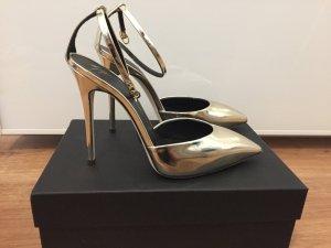Giuseppe Zanotti Pumps high Heels gold neu