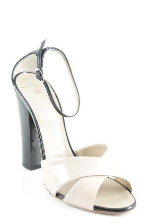 Giuseppe Zanotti Strapped pumps nude-black elegant